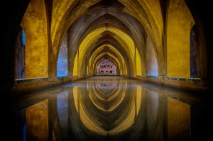 Fotografía de Miguel Portillo. Título: Bóveda infinita.