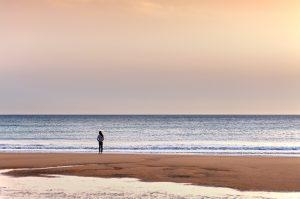 Fotografía de Miguel Portillo. Título: La mirada del silencio.